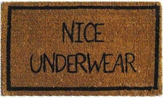 Funny Doormat. The link has more of them as well.