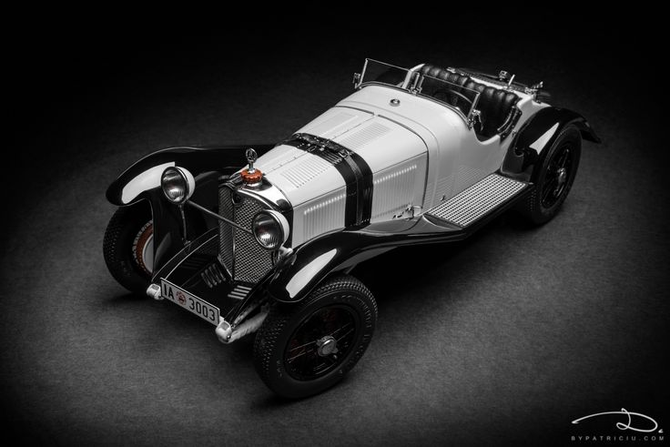 Mercedes-Benz SSK (digital prototype), 1931 - model made by CMC in 1:18th scale.