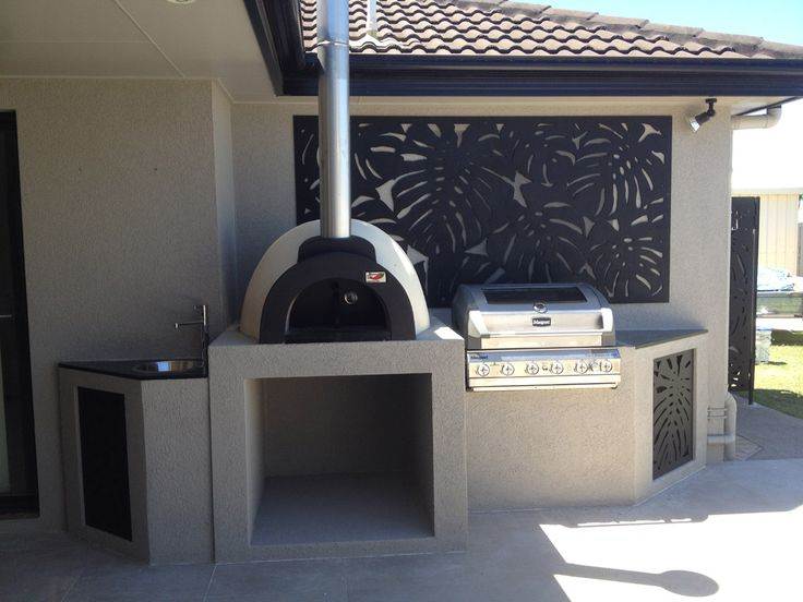alfresco kitchens woodfired pizza ovens qld allfresco pizza oven outdoor outdoor kitchen on outdoor kitchen queensland id=87616