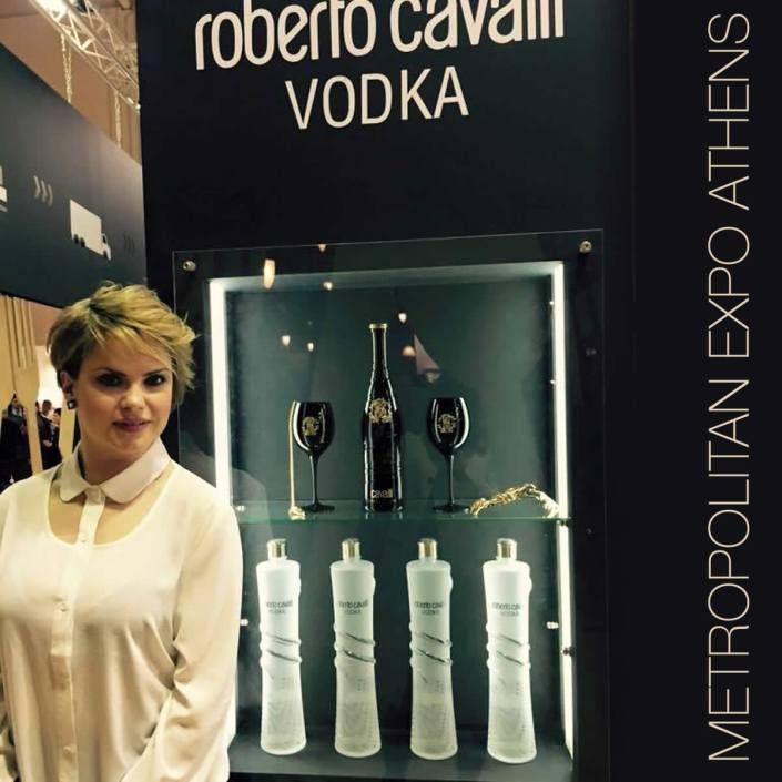 Roberto Cavalli Vodka and Acqua Zoe Limited at the Metropolitan Expo Athens