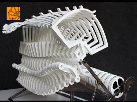 Top 6 kinetic art objects by Arthur Ganson    Perpetual Useless - YouTube