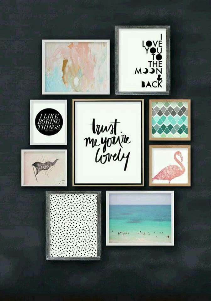 Frame Wall top 25+ best gallery wall layout ideas on pinterest | gallery wall
