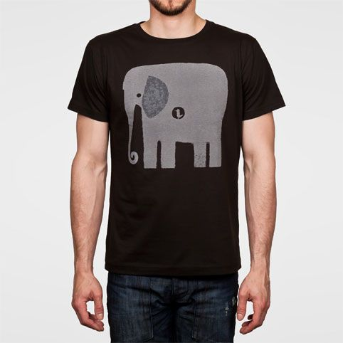Monsterthreads Elephant+Bird Guys Tee