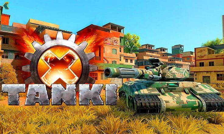 Обзор Tanki X