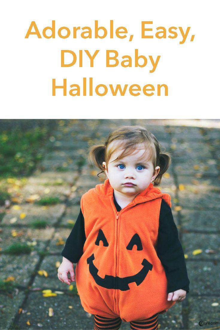 318 best halloween images on pinterest halloween crafts halloween adorable easy diy baby halloween costumes solutioingenieria Images