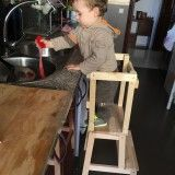 Torre di apprendimento Montessori fai-da-te (Laura per Team Mama)