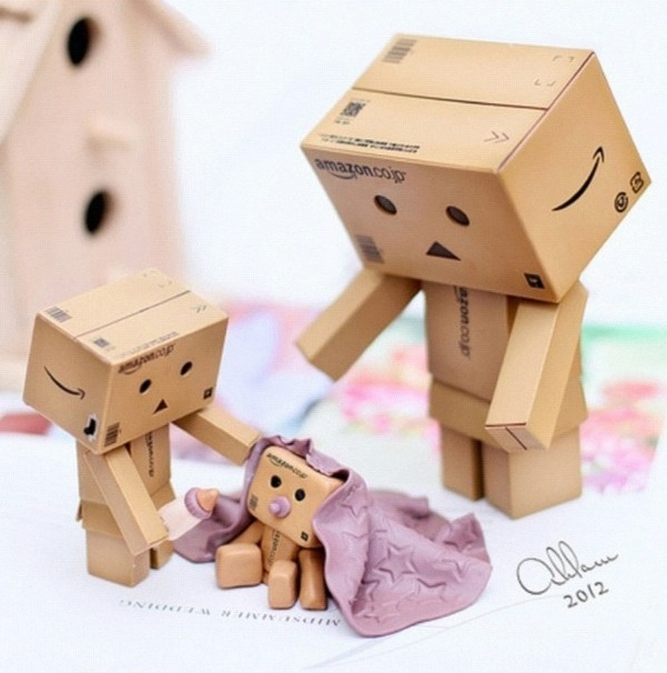 Baby Danbo is just tooo cute PD