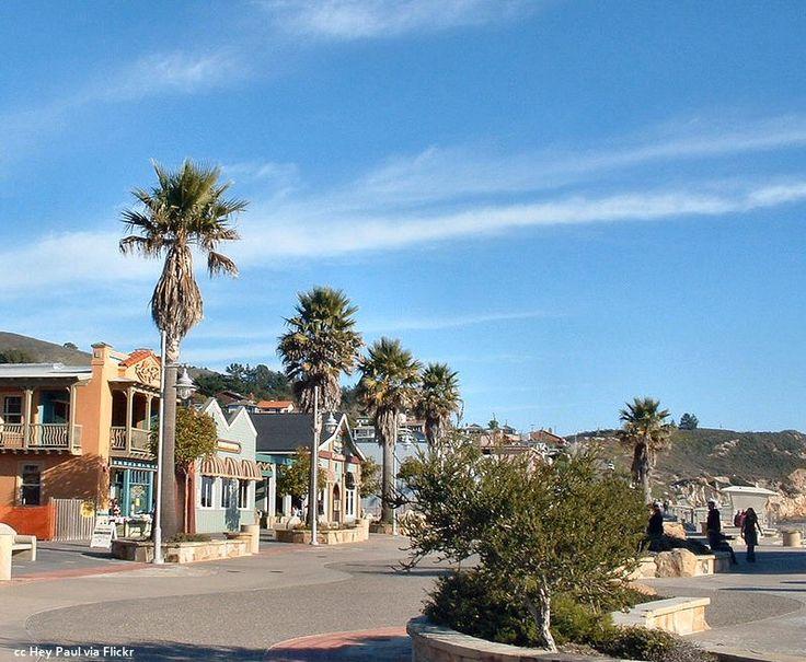 "Avila Beach, California. Inspiration for Riley's future fantasy in the ""Visual Intervention"" chapter."