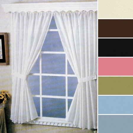 Amazon Com Fabric Bathroom Window Curtain I M Thinking