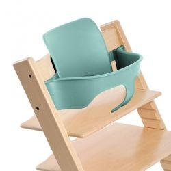 Module Baby Set pour chaise haute Tripp Trapp Stokke Aqua Blue bleu dossier haut arceau de soutien jusqu'à 18 mois environ