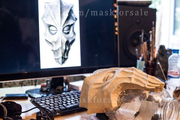Skyrim masks update #tes #tes5 #skyrim #mask #maskforsale #cosplay #craft #dukaan #zahkriisos #miraak #dragonpriest #konahrik #vokun