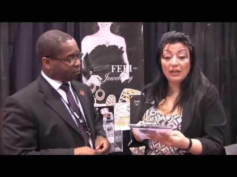 Trade Show Setup with GWT Vice President, Sanaz Hooman (2013)