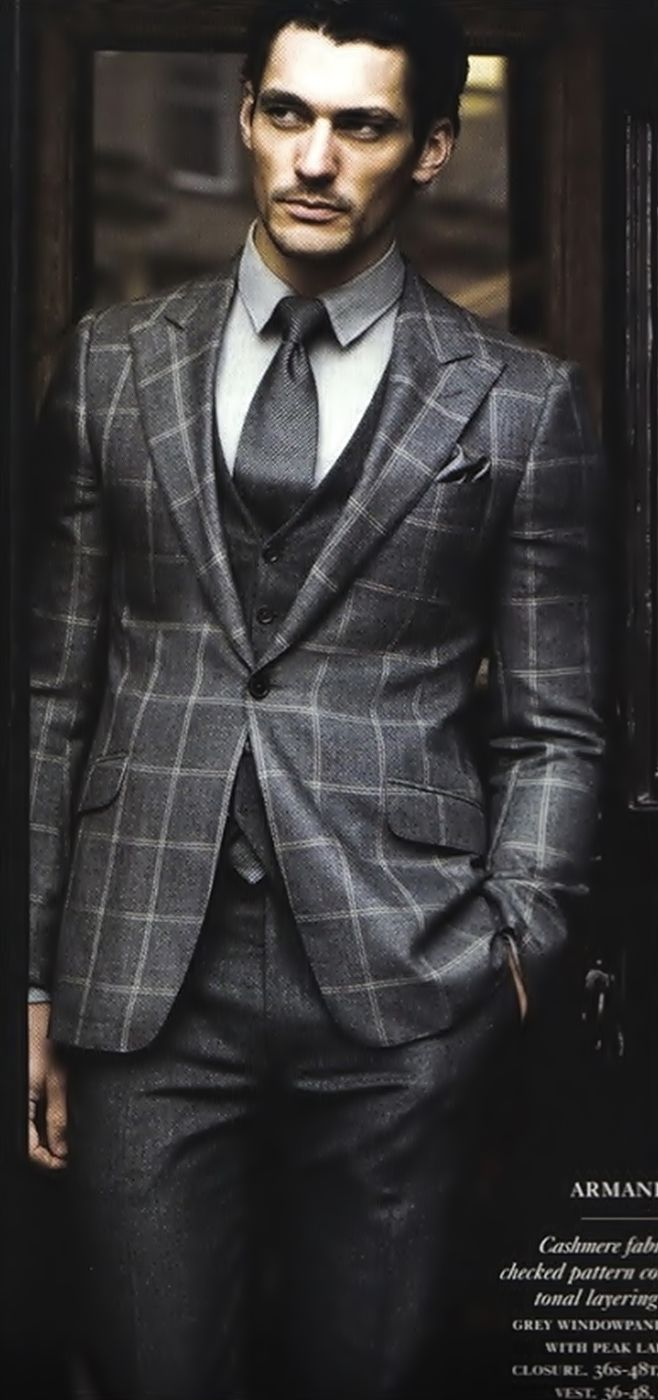 David Gandy has such great style, class, and poise ...
