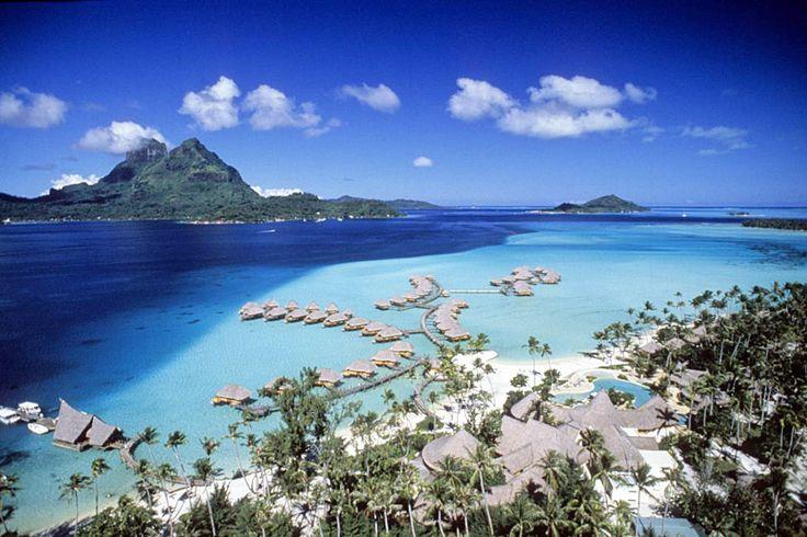 The Bora Bora Pearl Beach Resort and Spa is located on theisland of Motu Tevairoa in Bora Bora, French Polynesia.