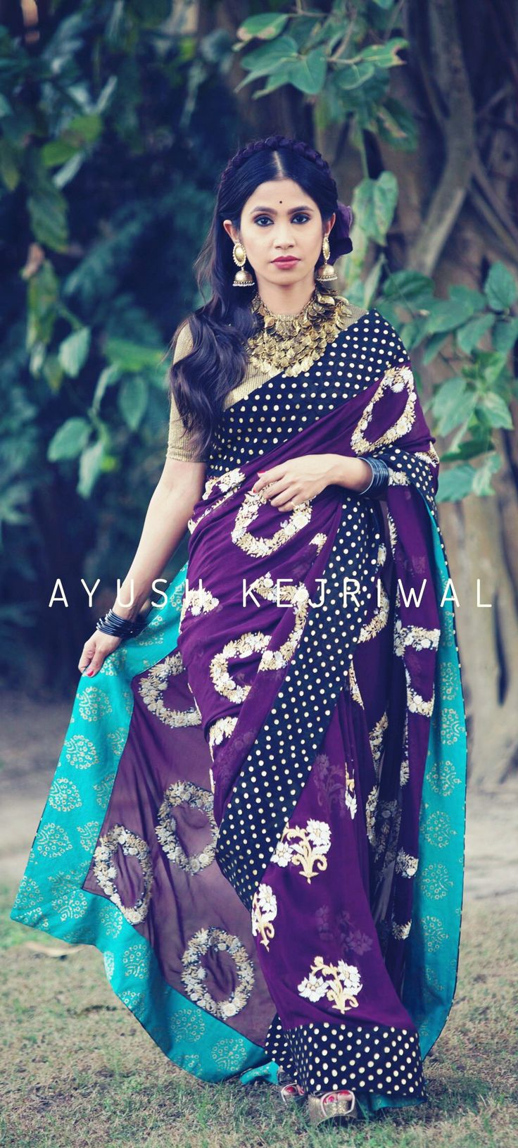 Saree by Ayush Kejriwal For purchases email me at