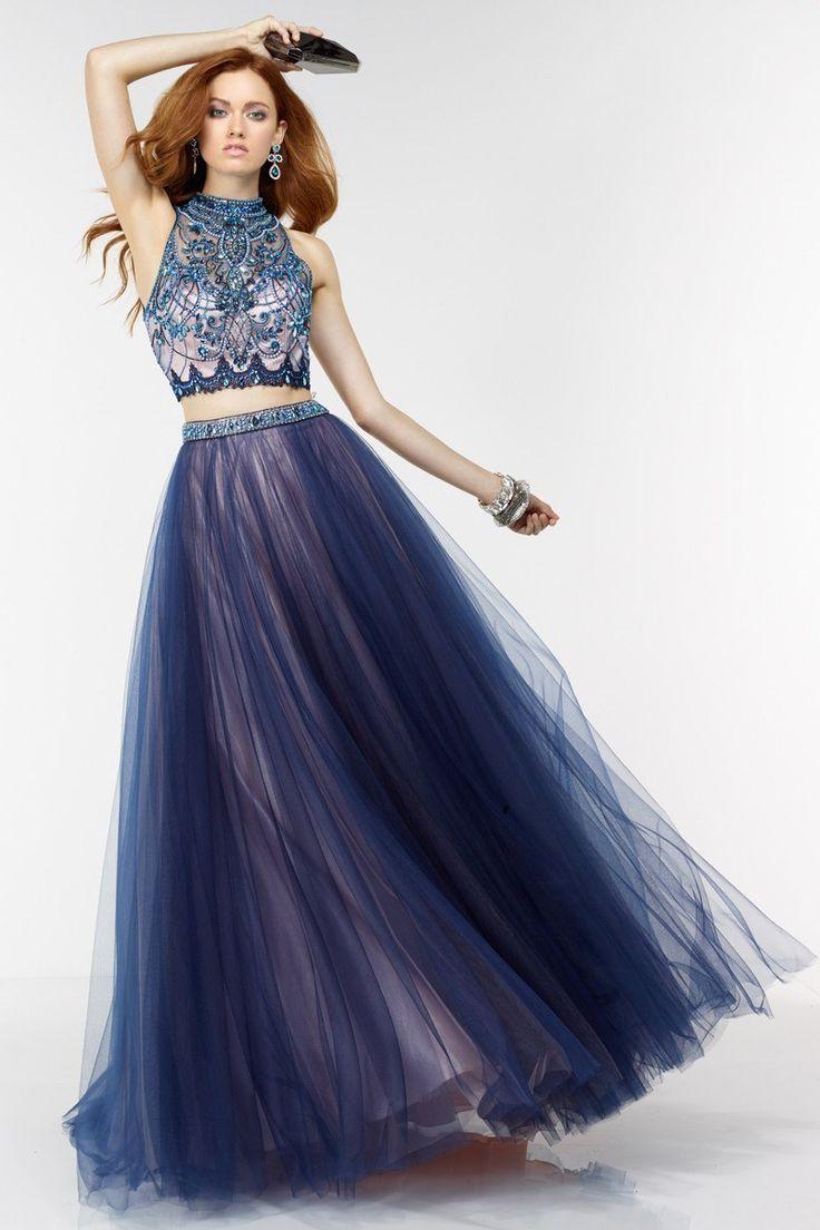 vogue prom dress