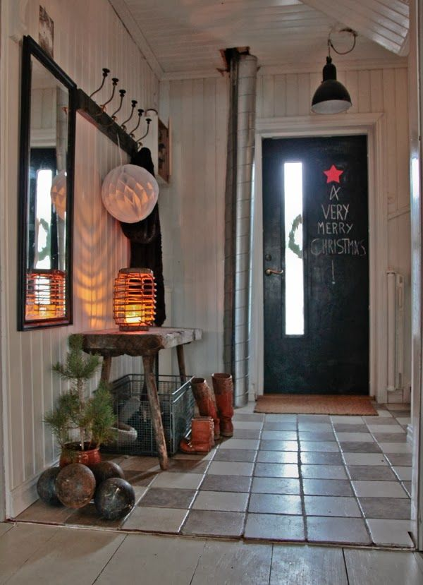 Hall, Krokar Idéer För Hemmet Pinterest God Jul, Vintage Och Kärlek