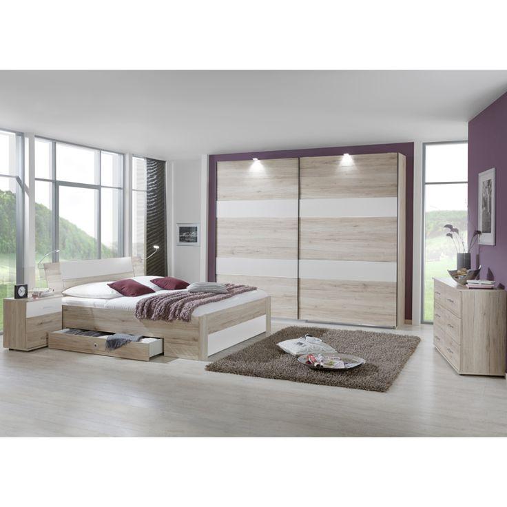 schlafzimmer set yonie166 san remo eiche wei jetzt bestellen unter https - Fantastisch Heimwerken Entzuckend Schlafzimmer Set Weiss Idee