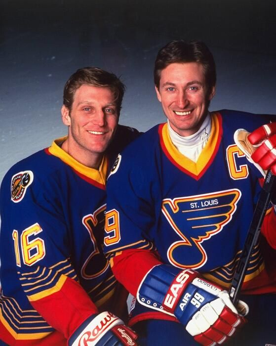 They are hockey,  Hull and Gretzky