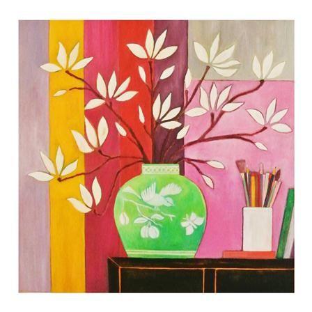 Lienzo Magnolia's, Canvas de Mariska Meijers, 50x60cm