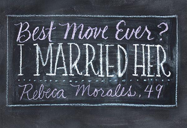Reader Rebeca Morales's six-word memoir.