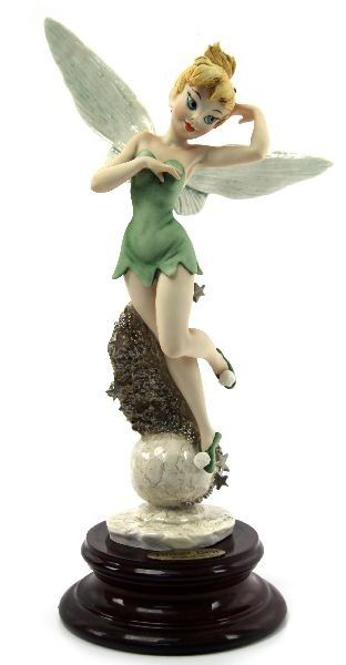 17 best images about giuseppe armani on pinterest disney pinocchio and florence - Tinkerbell statues ...