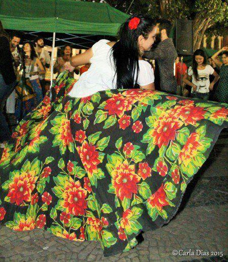 Roda de carimbó é atração do Viaduto de Madureira no feriado