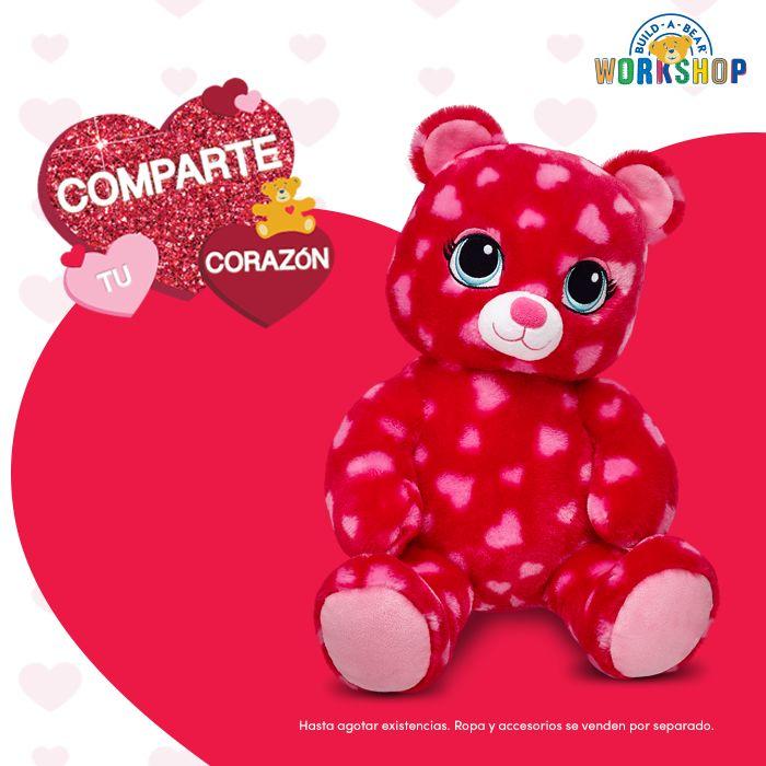 Oso Sweet Heart $400.00 pesos (La ropa y accesorios se venden por separado). Cómpralo aquí: http://ow.ly/XffBa