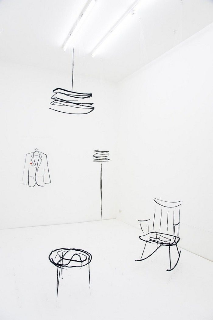 Among many works created by Analogia project, is the Analogia objects that resemble 2-dimensional furniture design.
