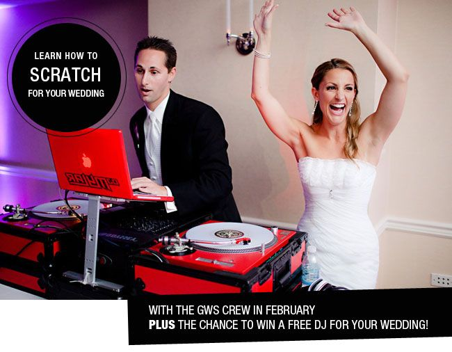 Love music? Learn to DJ at your own wedding!