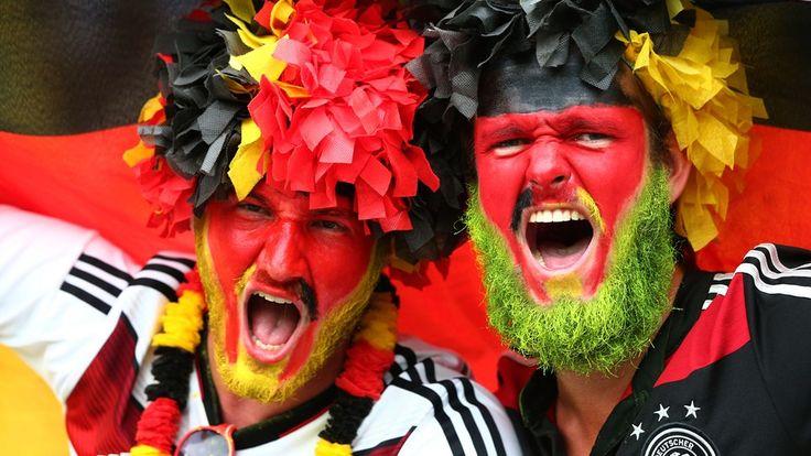 Celebración teutona #MundialBrasil2014