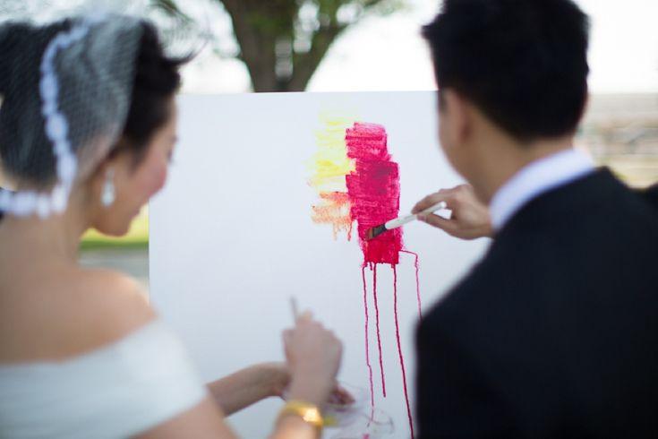 Wedding Unity Painting
