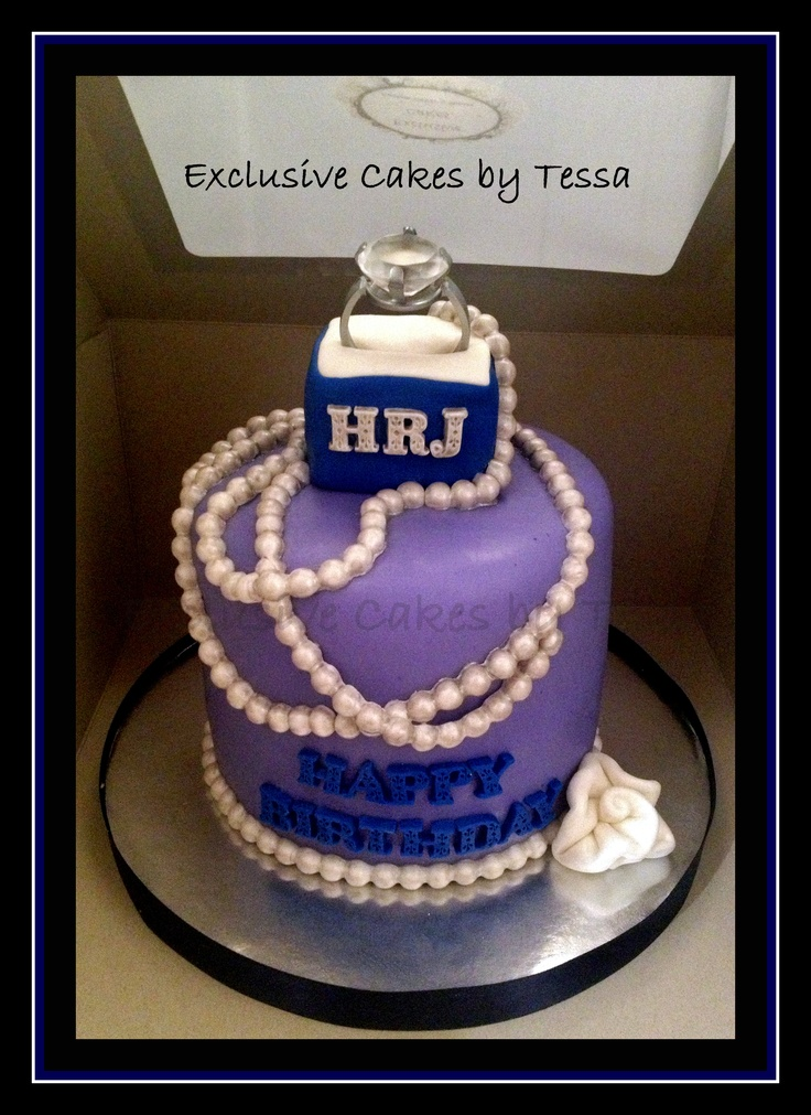 Harry Richie Jewelers Inspired Birthday Cake By Exclusive