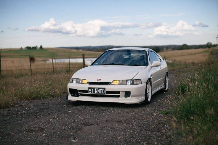 Customer Dennis' 1999 Honda Integra DC2 Type R fitted with BC BR racing coilovers