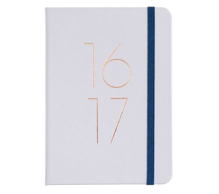 Stay organised in style with this beautiful mid year 2016/17 diary featuring yearly, monthly and weekly views
