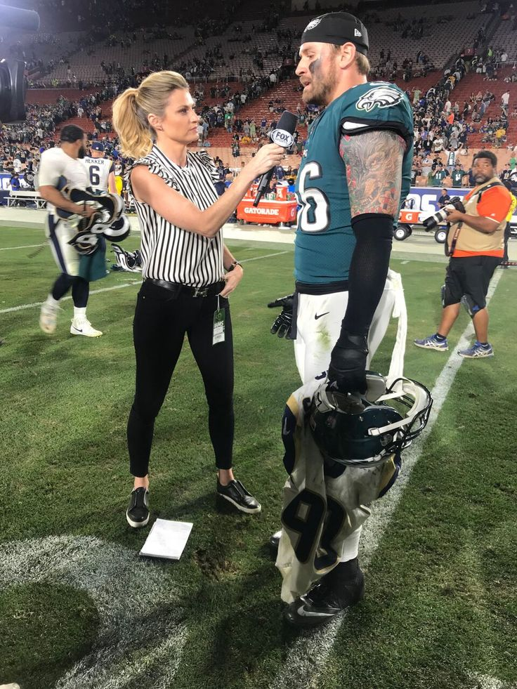 Shop the Chic Shirt Erin Andrews Wore on This Week's NFL Game Day