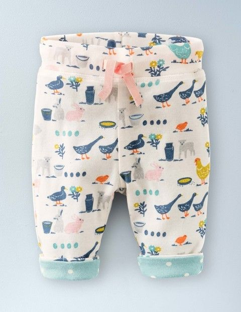Mini Boden Super Soft Reversible Trousers