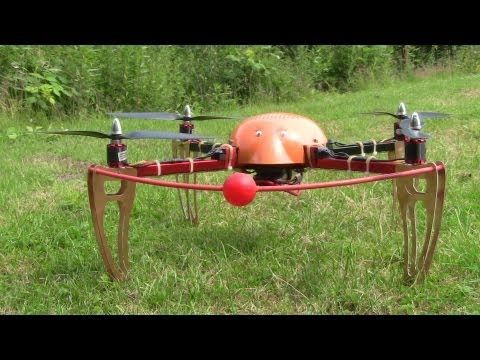 """""""Kunstflug"""" ?? Die Kür von Meiner mit Quadrocopter X550"""