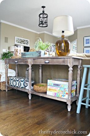 59 best sofa tables images on pinterest