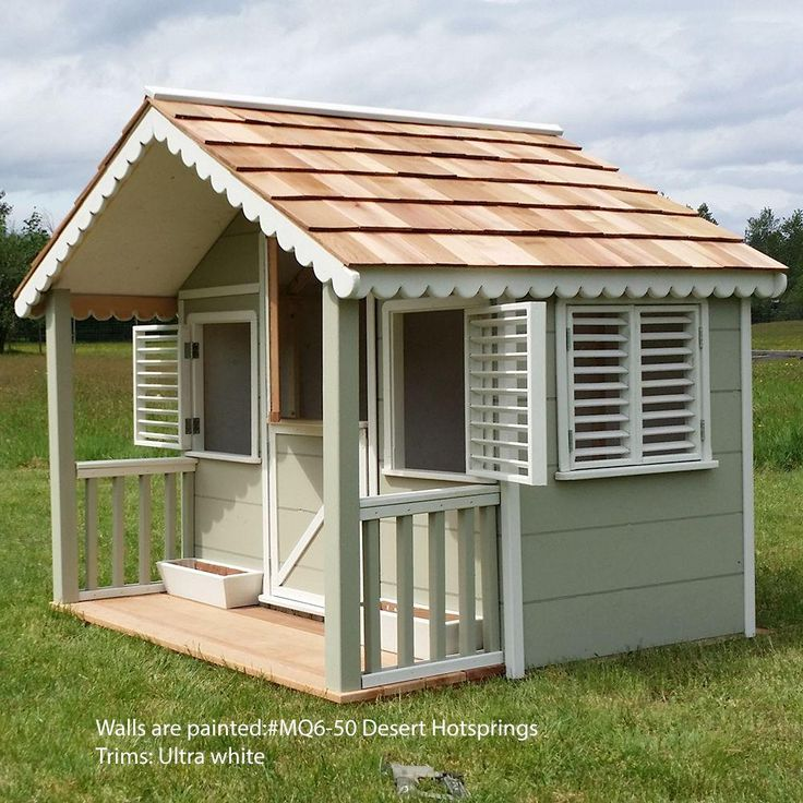 Home Depot Playhouses : Best playhouse kits ideas on pinterest