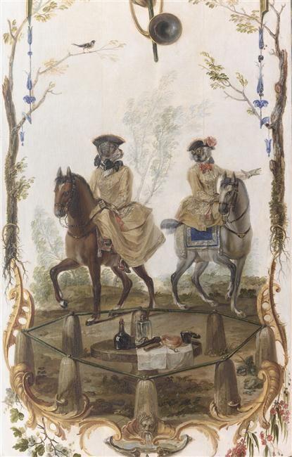 Singeries du Château de Chantilly