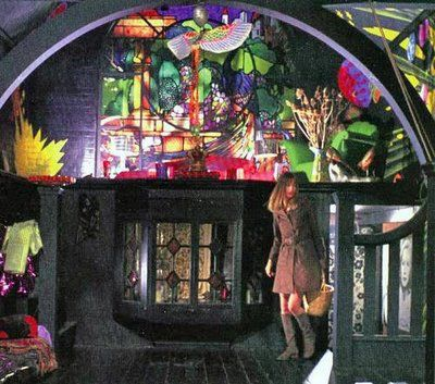 from George Harrison's film Wonderwall with set design by The Fool