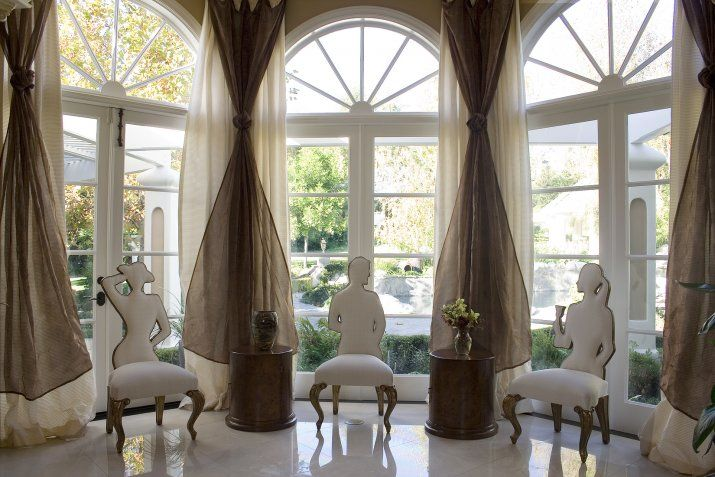 24 best bay windows tall windows images on pinterest for Arched bay windows