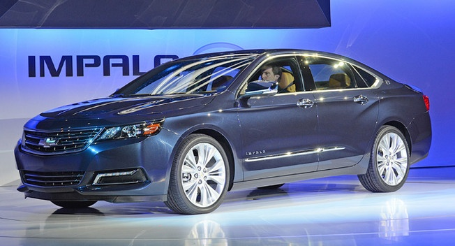 The bloated full size sedan look has made it to chevy. This is good step forward.