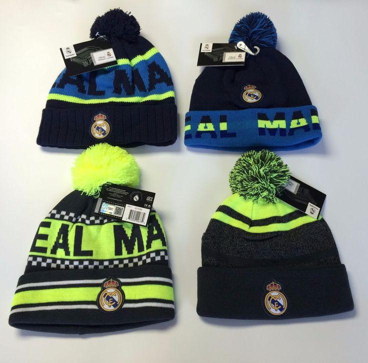 Real Madrid  Beanie pom pom cap hat Soccer Official Merchandise  #rhinox #RealMadrid