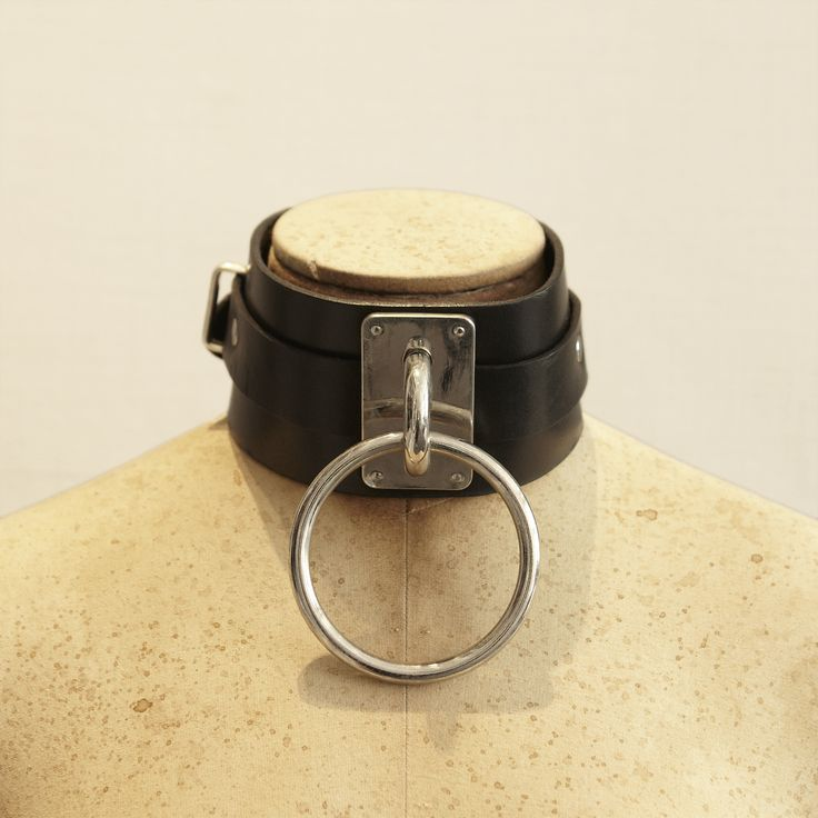 Black Leather Choker by Zana Bayne. £80 (Excludes VAT)
