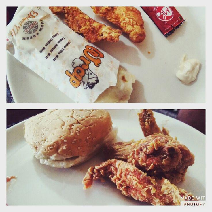 Weekend calories lunch...lol