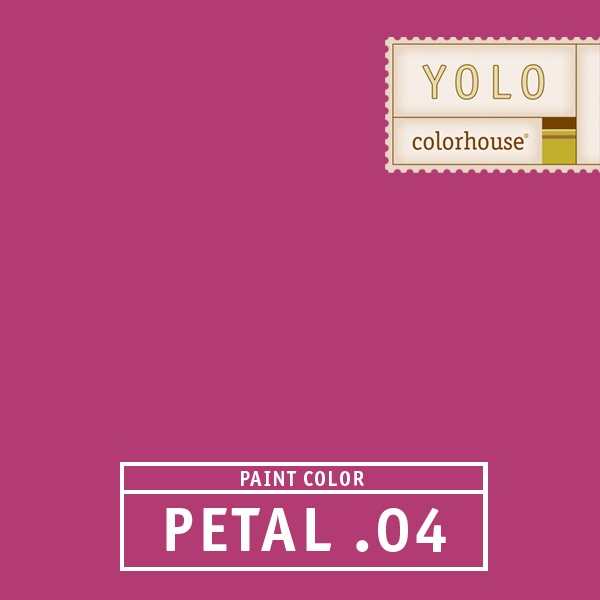 yolo colorhouse petal designed as an accent to be used as color spots such as stripes a great color for kids playrooms or if you want lots of drama it