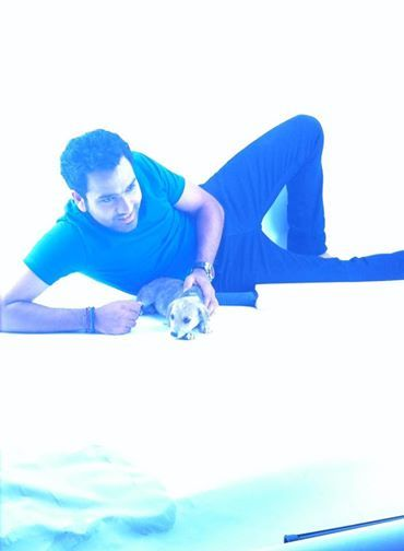 Rohit Sharma With His furry little ones