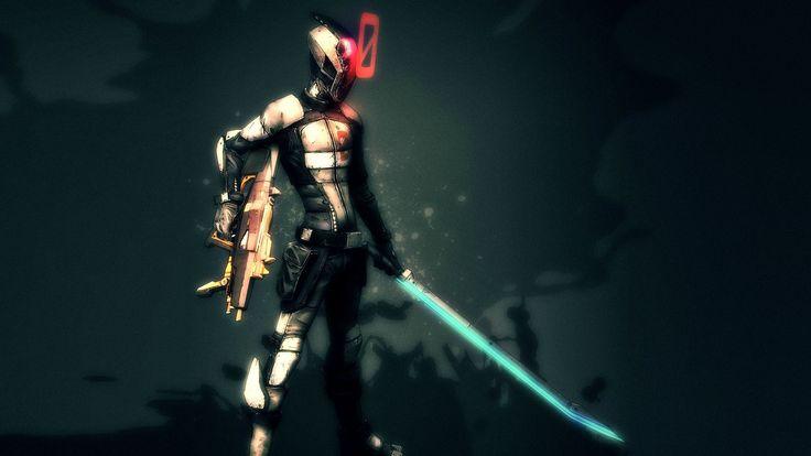 video games guns weapons helmets simple background swords Borderlands 2 Zer0 - Wallpaper (#1871745) / Wallbase.cc